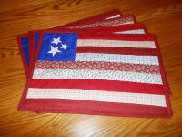Patriotic Placemats Pattern HBD-104