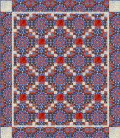 Chained Quilt Pattern HHQ-7361