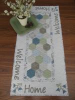 Welcome Home Table Runner Pattern HHQ-7401