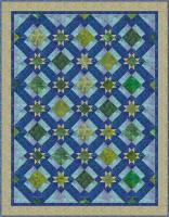 Stars in the Pond Quilt Pattern HMD-110