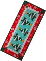 Snowy Pines Table Runner Pattern HMD-111