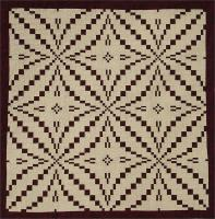 King's Puzzle Quilt Pattern HQ-202