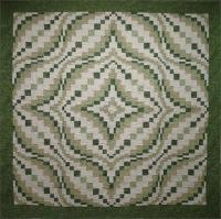 Winding Waves Quilt Pattern HQ-204