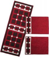 Latticework Placemats and Runner Pattern HQ-212