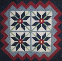 Snow Blossom Quilt Pattern HQ-218