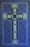 Woven Cross Quilt Pattern HQ-221