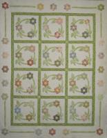 Posy Wreath Quilt Pattern HQ-230