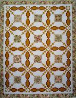 Queen's Crown Quilt Pattern HQ-234