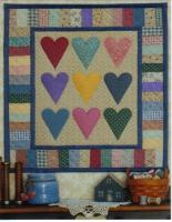 Scrappy Hearts Quilt Pattern JMI-140