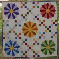 Plates in the 9 Patch Quilt Pattern KB-46