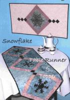 Snowflake Table Runner & Topper Pattern KQD-107