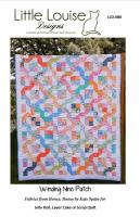 Winding Nine Patch Quilt Pattern LLD-080