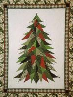 Sage Country Christmas Tree Quilt Pattern LSC-0101
