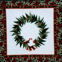 Peace Dove Wreath Quilt Pattern LSC-0501