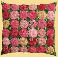 Ruched Blossom Pillows Pattern LSC-1203