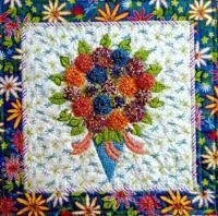 Tussy Mussy Mums Quilt Pattern LSC-1503