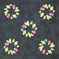 Carragana Wreath Quilt Pattern LSC-1802