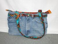 Denim Pants Tote Bag Pattern MAM-215