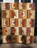 Log Cabin Loco Quilt Pattern MD-11