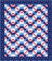 Triple 4-Patch Zigzag Quilt Pattern MF-202