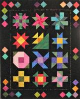 Midnight Posies Block of the Month Quilt Pattern MGD-103