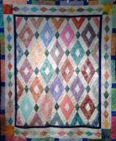 Sea Glass Diamonds Quilt Pattern MGD-313