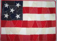 Easy Crazy Flag Quilt Pattern NDD-102