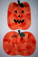 Easy Crazy Quilt Pumpkin NDD-103