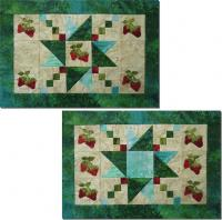 June Strawberries Placemats Pattern NDD-127