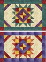 November Sunset Placemats Pattern NDD-132