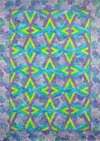 Double Diamond Quilt Pattern NJD-101