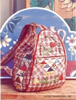 Flower Basket Backpack Pattern OP-22