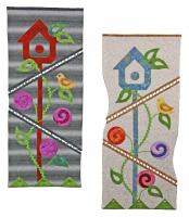 The Presto Links Birdhouse Wall Quilt Pattern PAD-132e