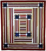 Stars and Stripes Quilt Pattern PAD-134e