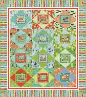 Retro Christmas Quilt Pattern PC-107