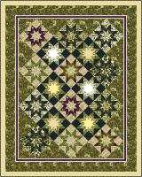 Tapestry Stars Quilt Pattern PC-109