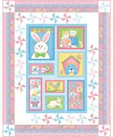 Bunny Patch Trio Quilt Pattern PC-123