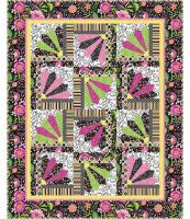 Scrappy Fans Quilt Pattern PC-127