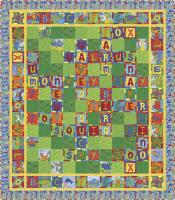 Animal Crossword Quilt Pattern PC-142