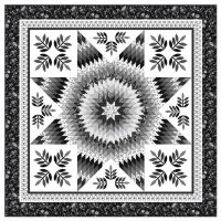 Strip-Easy Lone Star Quilt Pattern PC-166