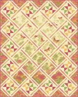 Butterfly Lattice Quilt Pattern PC-198