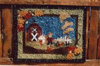 Fall Post Cards Pattern PLD-498