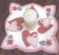 Little Perks Candle Mats February Pattern PLD-587