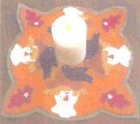 Little Perks Candle Mats September Pattern PLD-594