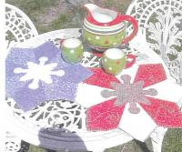 Snow Blossom Placemats Pattern PLD-670