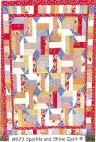 Sparkle and Shine Quilt Pattern PLD-673
