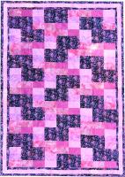 Subway Tiles - The Pink Line Quilt Pattern PRL-105