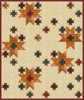 Stars of Light Quilt Pattern PS-939