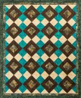 Chocolate Caramel Swirl Quilt Pattern PS-980
