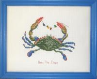 The Christmas Crab Cross Stitch Pattern PS-9840